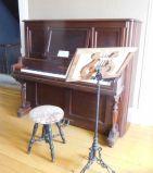 Scott Joplin House piano