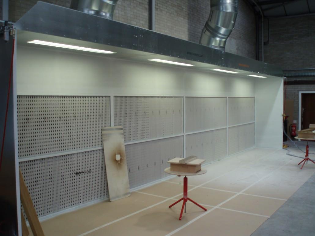 Manual Spray Booths  SCHUBERTS