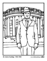 Malvorlage 30 Calvin Coolidge   Kostenlose Ausmalbilder ...
