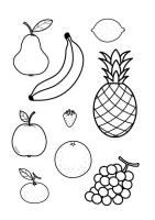 Malvorlage alle Obstsorten   Kostenlose Ausmalbilder Zum ...