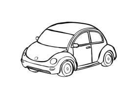 Malvorlage Auto   Kostenlose Ausmalbilder Zum Ausdrucken ...