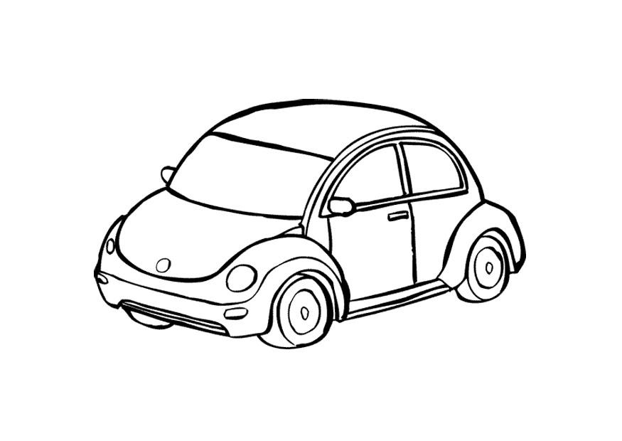 Auto Malvorlage