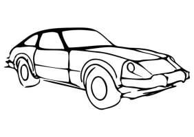 Malvorlage Auto   Kostenlose Ausmalbilder Zum Ausdrucken.