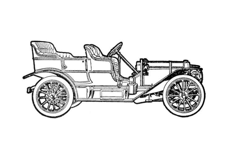 Malvorlage Auto Ausmalbild 18788