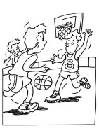 Malvorlage Basketball   Kostenlose Ausmalbilder Zum ...