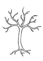 Malvorlage Baum   Kostenlose Ausmalbilder Zum Ausdrucken ...