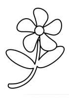 Malvorlage Blume   Kostenlose Ausmalbilder Zum Ausdrucken.