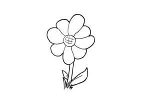 Malvorlage Blume   Kostenlose Ausmalbilder Zum Ausdrucken ...