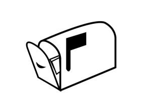 Malvorlage Briefkasten   Kostenlose Ausmalbilder Zum ...