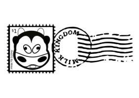 Malvorlage Briefmarke   Ausmalbild 25707.
