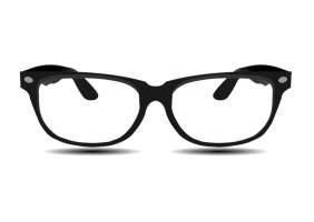 Malvorlage Brille   Ausmalbild 25692.