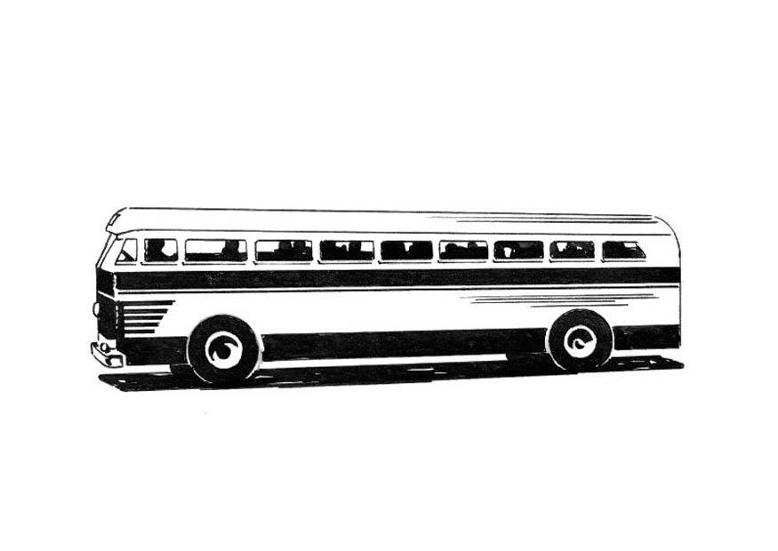 Malvorlage Bus Ausmalbild 18744