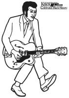 Malvorlage Chuck Berry   Kostenlose Ausmalbilder Zum ...