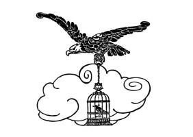 Malvorlage der Adler und die Nachtigall   Kostenlose ...