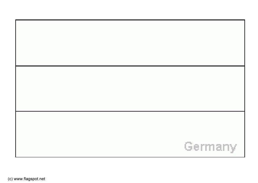 Malvorlage Deutschland - Kostenlose Ausmalbilder Zum