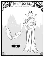 Malvorlage Dracula   Kostenlose Ausmalbilder Zum ...
