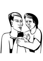 Malvorlage Eltern   Kostenlose Ausmalbilder Zum Ausdrucken ...
