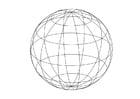 Malvorlage Globus - Kostenlose Ausmalbilder Zum Ausdrucken