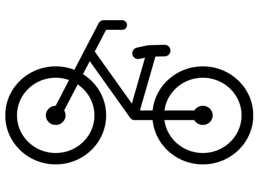 Malvorlage Fahrrad - Kostenlose Ausmalbilder Zum