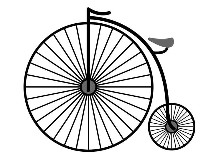 Malvorlage Fahrrad Ausmalbild 25717