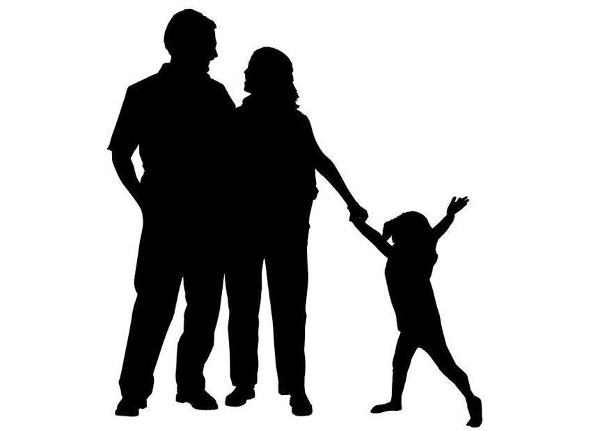 Malvorlage Familie Ausmalbild 26168