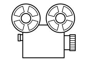 Malvorlage Film   Kostenlose Ausmalbilder Zum Ausdrucken ...