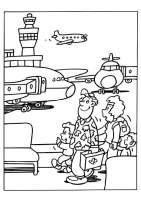 Malvorlage Flughafen   Kostenlose Ausmalbilder Zum ...