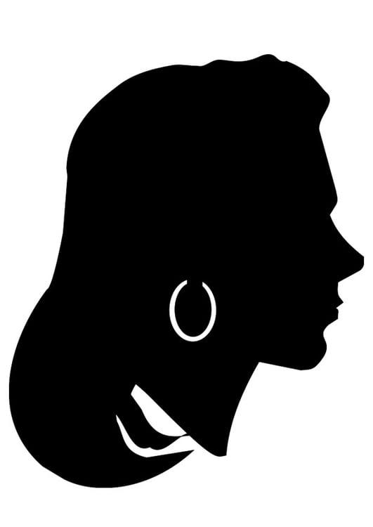 Malvorlage Frau - Kostenlose Ausmalbilder Zum Ausdrucken