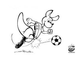 Malvorlage Fussball   Kostenlose Ausmalbilder Zum ...