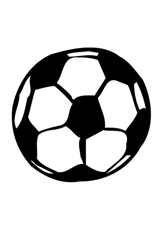 Malvorlage Fussball - Kostenlose Ausmalbilder Zum