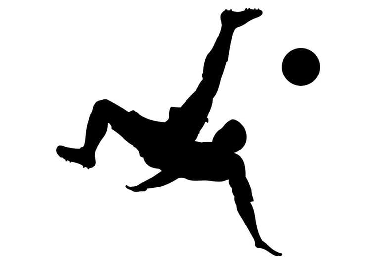 Malvorlage Fu?ball spielen - Kostenlose Ausmalbilder Zum