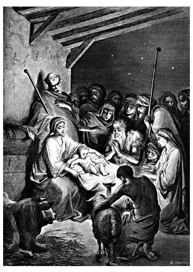 Malvorlage Geburt Jesu - Kostenlose Ausmalbilder Zum