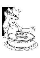 Malvorlage Geburtstag   Kostenlose Ausmalbilder Zum ...