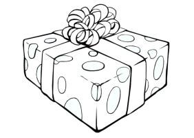 Malvorlage Geschenk   Kostenlose Ausmalbilder Zum ...