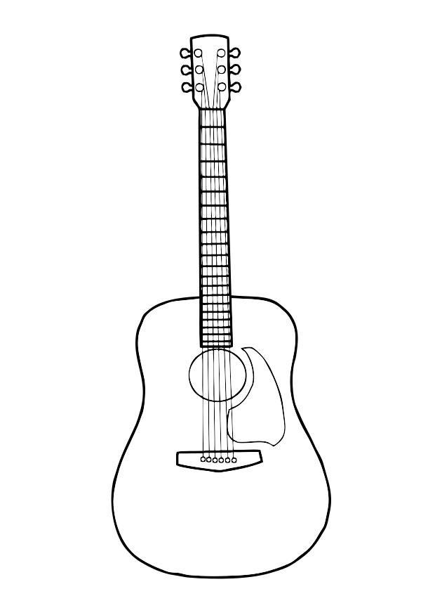 gretsch wiring diagram fender strat 5 way switch malvorlage gitarre | ausmalbild 29718.