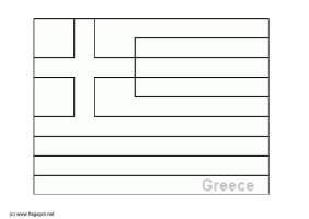 Malvorlage Griechenland   Kostenlose Ausmalbilder Zum ...
