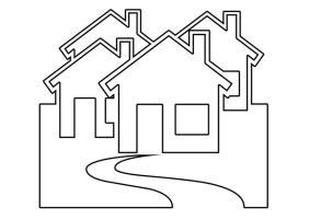 Malvorlage Häuser   Kostenlose Ausmalbilder Zum Ausdrucken ...