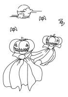 Malvorlage Halloween Geist   Kostenlose Ausmalbilder Zum ...