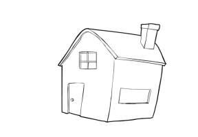 Malvorlage Haus   Kostenlose Ausmalbilder Zum Ausdrucken ...