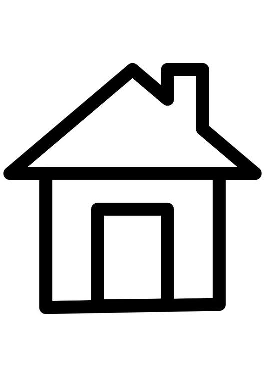 Malvorlage Haus - Kostenlose Ausmalbilder Zum Ausdrucken