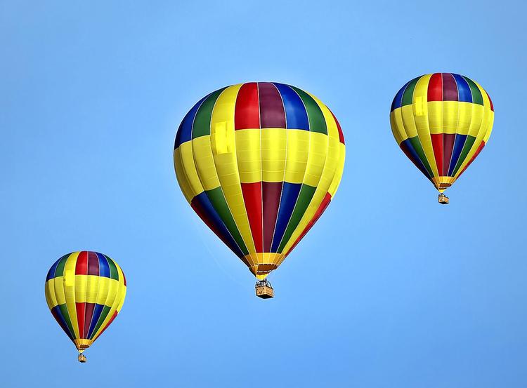 Malvorlage Hei?luftballon - Kostenlose Ausmalbilder Zum