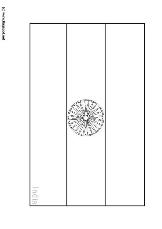 Malvorlage Indien Ausmalbild 6281