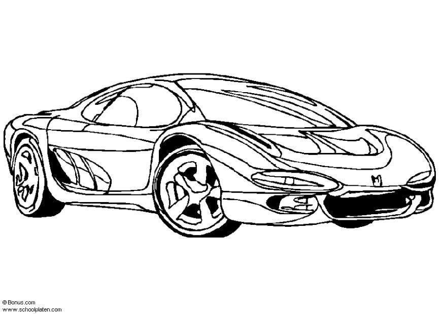 Porsche 911 Bilder Zum Ausmalen - Baldachin
