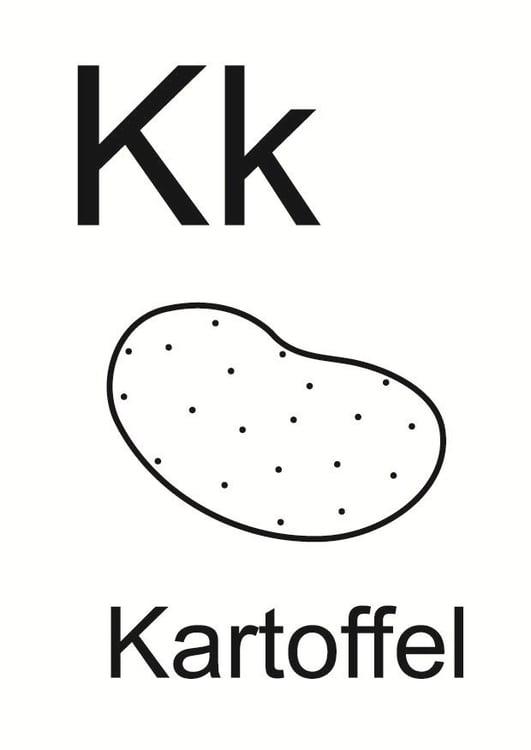 Malvorlage k - Kostenlose Ausmalbilder Zum Ausdrucken