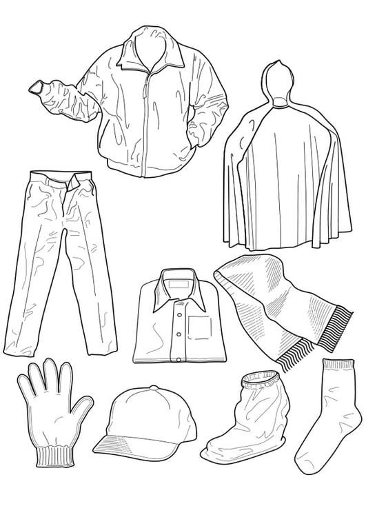 Malvorlage Kleider - Kostenlose Ausmalbilder Zum