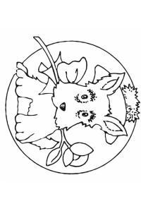 Malvorlage Kleiner Hund Kleiner Hund Mit Geschenk Ausmalbild