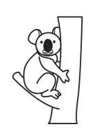 Malvorlage Koala   Kostenlose Ausmalbilder Zum Ausdrucken ...