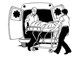 Malvorlage Krankenwagen   Kostenlose Ausmalbilder Zum ...