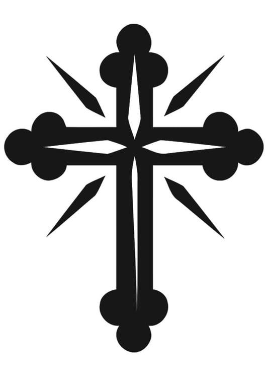 Malvorlage Kreuz - Kostenlose Ausmalbilder Zum Ausdrucken