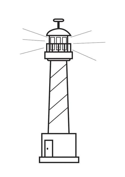 Malvorlage Leuchtturm Ausmalbild 23130